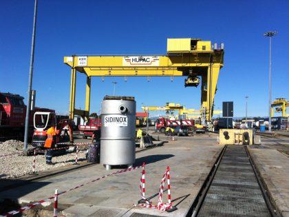 Pubblicata su Servizi a Rete l'installazione della stazione di sollevamento Sidinox al terminal intermodale Hupac